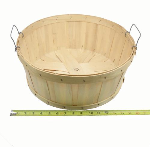Basket, Half Bushel Shallow Round