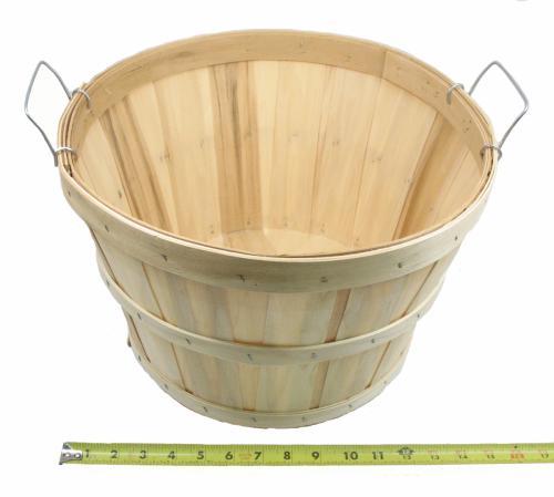 Basket, Half Bushel Tub Round