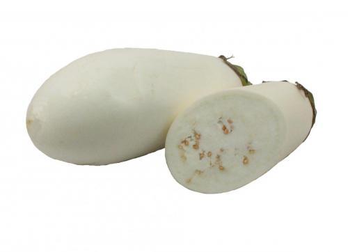 Eggplant, White