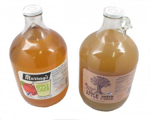 Juice, Apple Cider & Cloudy