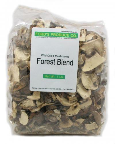 Mushroom, Forest Blend, Dried