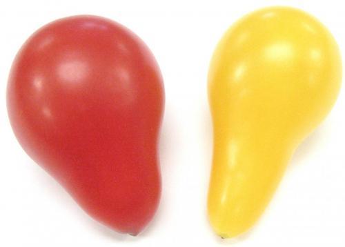 Tomato, Teardrop, Red & Yellow