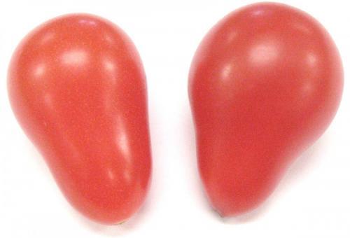 Tomato, Teardrop, Red